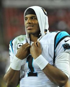 With Carolina 6-3, Cam Newton often has sported a smile at game's end this season.